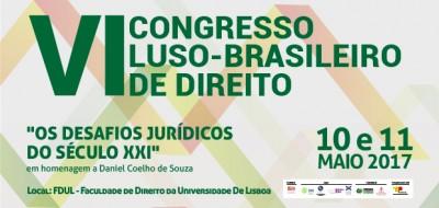 VI Congresso Luso-Brasileiro de Direito