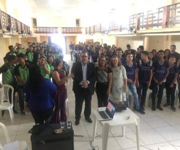 Palestra ISM nas Escolas em Santa Izabel