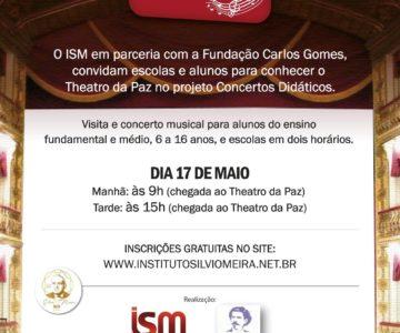 Parceria ISM MUSIC e FUNDAÇÃO CARLOS GOMES