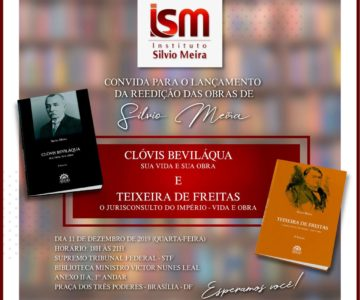 Lançamento da Reedição de Livros na Biblioteca do STF